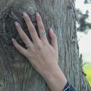 טבעת אבן חן