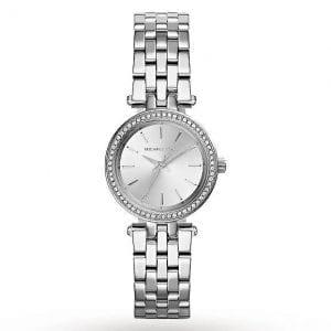 שעון נשים כסוף קטן וקלאסי